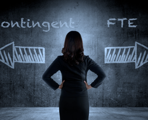 Contingent vs FTE decisions for managers